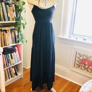 Theory maxi length tiered tank summer dress